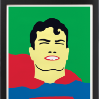 """My Hero! Contemporary Art & Superhero Action"" opening day"