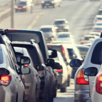 Houston traffic freeway highway