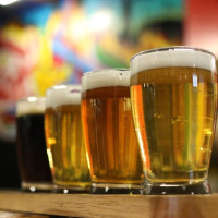 Freetail Brewing beer flight San Antonio