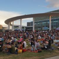 Sound & Cinema Long Center lawn