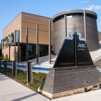 Holocaust Museum Houston outside