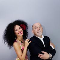 Raquel Cepeda and Joe LoCascio in concert