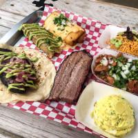 Tex-Mex barbecue spread