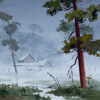 """Giddens Gallery of Fine Art in Grapevine presents Naomi Brotherton: """"Trees"""""""