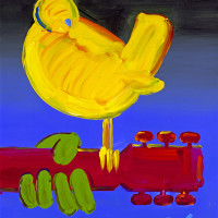 """Peter Max: """"The Retrospective-Back to Woodstock 50th Anniversary"""" opening reception"""