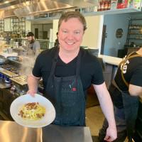 Bravery Chef Hall BOH Pasta Ben McPherson spaghetti carbonara
