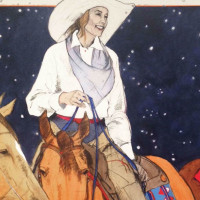 Briscoe Museum Cowgirl Artist: Donna Howell-Sickles