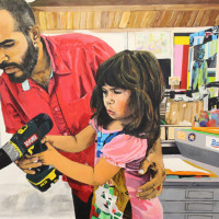 "Raul Gonzalez: ""Watch Me Work"" opening reception"