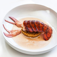 BCN lobster and rice bouillabaisse