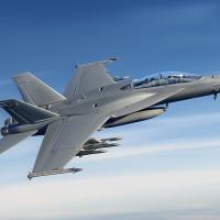 Boeing Super Hornet fighter