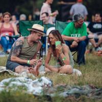 Outside City Limits Festival Vista brewing couple picnic