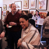 """""""The Golden 50th Annual Members Exhibit"""" opening reception"""