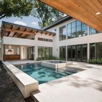 Houston Modern Home Tour 422 W Cowan Dr