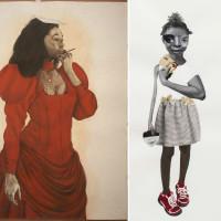 Artist Talk: Deborah Roberts and Robert A. Pruitt