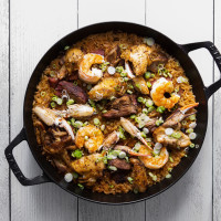 One Fifth Gulf Coast pork, chicken and shrimp jambalaya
