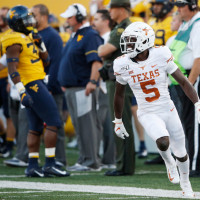 D'Shawn Jamison University of Texas Longhorns West Virginia game
