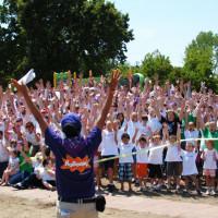 Volunteer Playground Construction in Austin Park