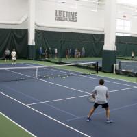 Lifetime Fitness Indoor Tennis Court