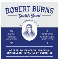 Robert Burns Scotch Event