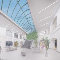 The new Houstonian Club atrium