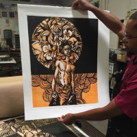 """Soul: Melanated Life In Print"" opening reception"
