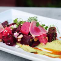 Summer salad at Bolsa restaurant in Dallas