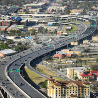 San Antonio highway traffic