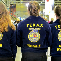 Katie Oxford Houston Rodeo FFA March 2015Future Farmers