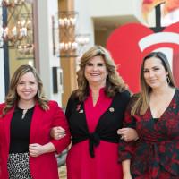 Tiffany McDonald, Gaylan Hendricks and Shawna Hendricks