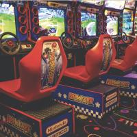 Pinballz arcade game mario kart