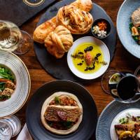 Doris Metropolitan food spread