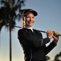 Pro golfer Laura Baugh