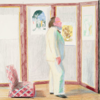 "McNay Art Museum presents ""Hockney to Warhol: Contemporary Drawings from the Collection"""