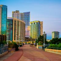 Downtown Austin apartments skyline