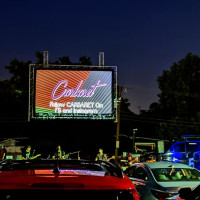 Carbaret drive-in movie