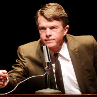 Joel Sandel as RFK in RFK: A Portrait of Robert F. Kennedy