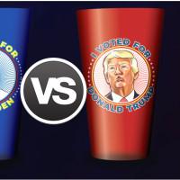 Flying Saucer presidential glasses