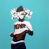 "Conduit Gallery presents Fahamu Pecou: ""Trapademia III: 7 African Powers"""