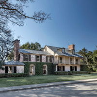 A House for Texas - the Elbert Williams Residence at 3805 McFarlin Boulevard in University Park