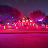 Browne Family Holiday Light Show