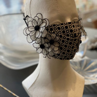 Kay Unger mask, Fashion Meets Mask