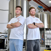 Recharge Brewing Co Modern Chemical Constantine Zotos and Mitchell Webber