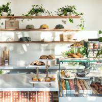 Ginger Kale merchandise shelves
