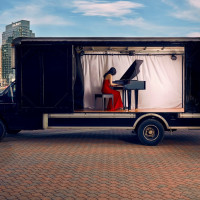 DSO mobile concert truck
