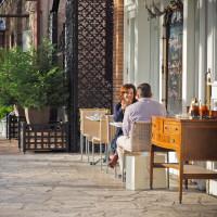 Fredericksburg outdoor dining