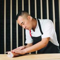 Sushi chef Jimmy Park