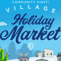 Community First! Village Holiday Market