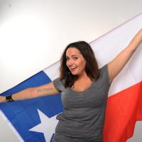 Dinah Powers Rod Ryan Show Texas flag