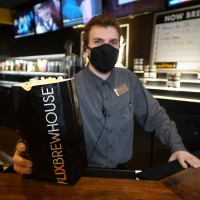 Flix Brewhouse covid-19 mask