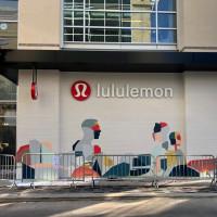 lululemon citycentre mural hugo perez